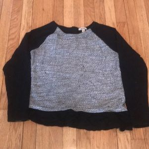 Cherokee girls sweater w faux peplum Size 18 (XXL)